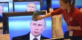 Пропаганда РФ насчитала в Украине 85% фанатов Путина