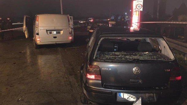Стрельба под Одессой: фото с места происшествия
