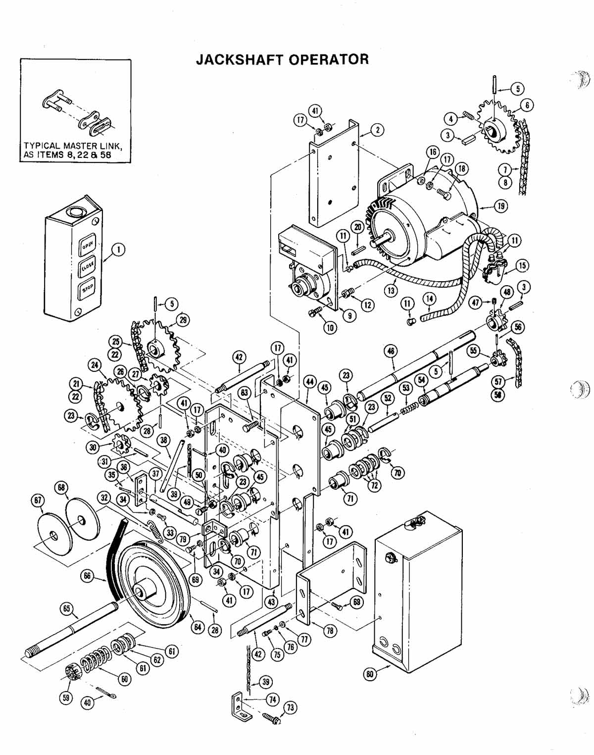Ags 101 Gate Opener Replacement Parts