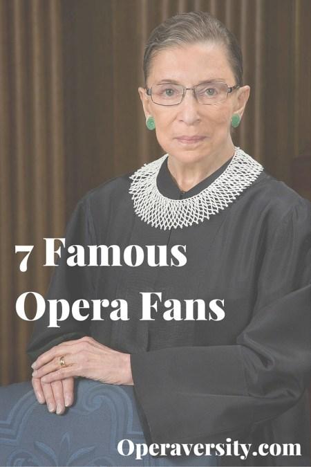famous opera fans