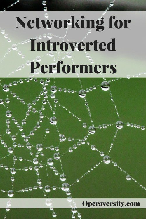 Networking for Introverted Performers