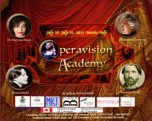Operavision Academy Busseto 2017 jpeg Poster
