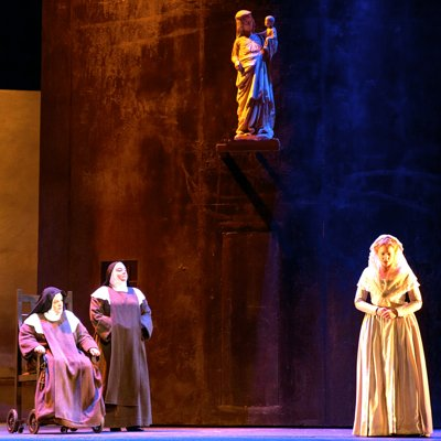 """Review: Zambello's Production of Poulenc's """"Dialogues of the"""