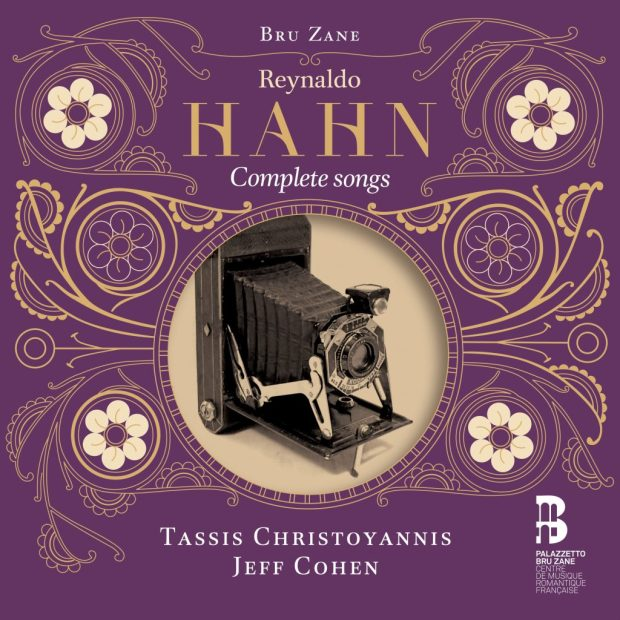 The Palazzetto Bru Zane edition of Reynaldo Hahn's complete songs, with baritone Tassis Christoyannis and pianist Jeff Cohen.
