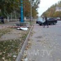 Вооруженные разборки  в Мелитополе. Есть убитые и раненые