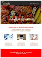 Opermedia - Tu negocio en su sitio - El sitio web que tu negocio necesita - Diseño Colorido