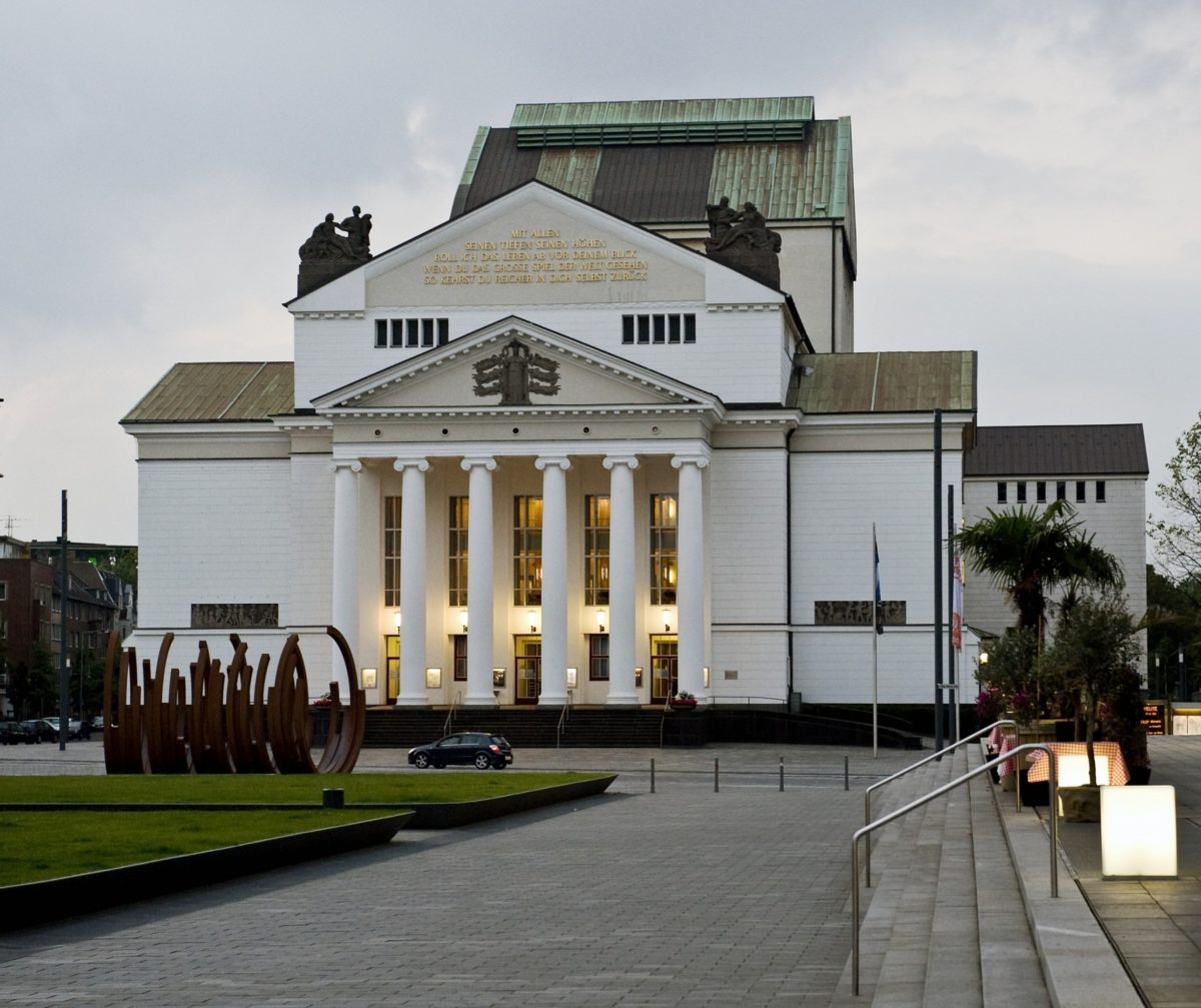 Theater Duisburg / Foto @ Hans-Joerg Michel