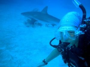 """Emily Newton und """"Shark"""""""