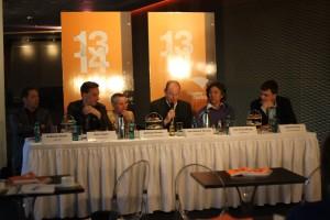 v.l.n.r. Andreas Gruhn, Kay Voges, Bettina Pesch, J.-D. Herzog, Xin Oeng Wang, Gabriel Feltz