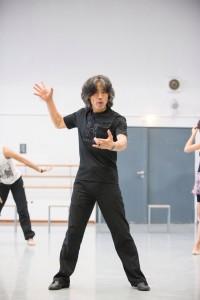 """Xin Peng Wang bei der Kreation seines neuen Handlungsballetts """"Zauberberg"""" Foto: Mario Perricone"""