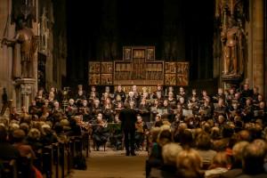 Chorfoto vom Konzert der Kreiskantorei Dortmund am 16.11.2013 in St. Reinoldi. Foto: @ Stephan Schütze