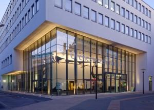 Orchesterzentrum Dortmund/ Außenansicht 2 (Dämmerung), Foto: Michael Rasche