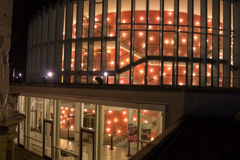 Theater Münster / Blick vom Romberger Hof auf das Große Haus / Foto: © Oliver Berg