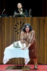 Musiktheater im Revier-La Gioconda- Nadine Weissmann und Dong Won Seo / Foto @ Thilo Beu