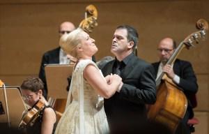Diana Damrau (Lucia) und Piero Pretti (Edgardo) / Foto: Saad Hamza