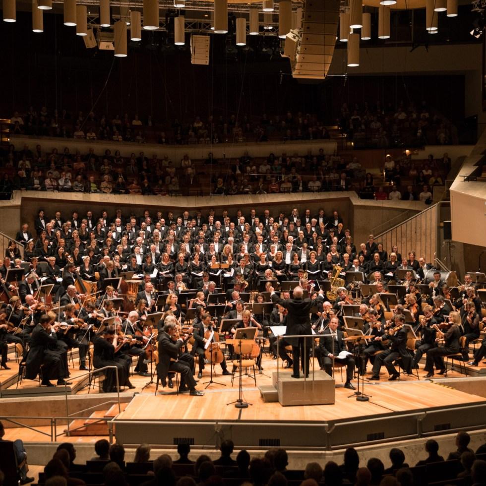 Staatskapelle Berlin / Konzert Dream of Gerontius / Foto @ Holger Kettner