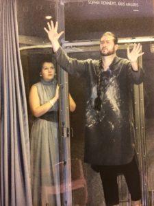 Aris Argiris und Sophie Rennert / Argiris als Johanaan