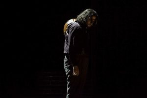 Aris Argiris als Rigoletto am MiR Foto @ Pedro Malinowksi