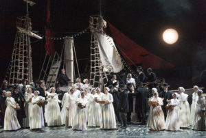 Der Fliegende Holländer / Chor der Deutschen Oper am Rhein FOTO Matthias Jung
