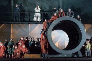 BILLY BUDD von Benjamin Britten, Deutsche Oper Berlin, Premiere am 22. Mai 2014, copyright: Marcus Lieberenz
