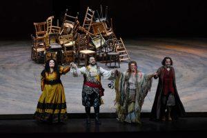 Gran Teatre del Liceu / Il Trovatore / Foto ® A Bofill ( T. Wilson/ G. Petean/ M. Cornetti /P. Pretti )