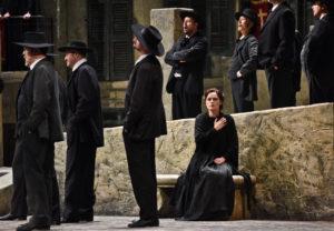 Staatsoper Hamburg / CAVALLERIA_PAGLIACI / Elena Zhidkova / Foto @ Hans Jörg Michel