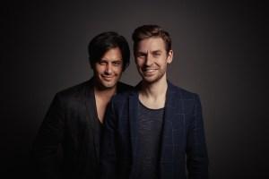 Regie-Duo SKUTR (v.l. Martin Kukučka und Lukáš Trpišovský) (Foto: Pavel Hejný)