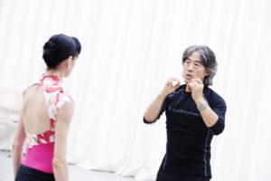 Ballett Dortmund / Rachmaninow I Tschaikowsky/Probenfoto mit Lucia Lacarra und Xin Peng Wang /Foto @ Björn Hickmann