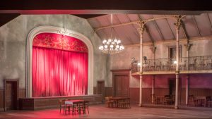 Theater Münster/ Die Csárdásfürstin (Bühnenbild) v. Bernd Franke/ Foto @ Oliver Berg