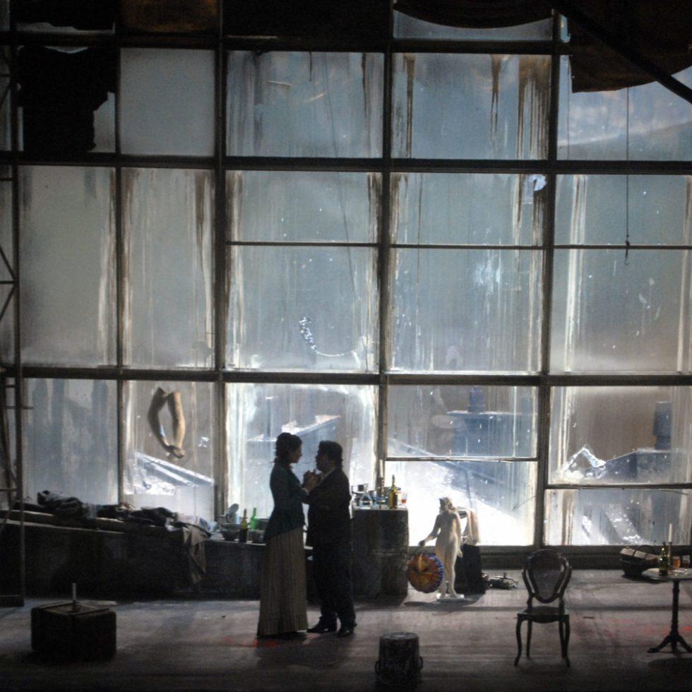 LA BOHEME von Giacomo Puccini, Deutsche Oper Berlin, copyright Bettina Stöß
