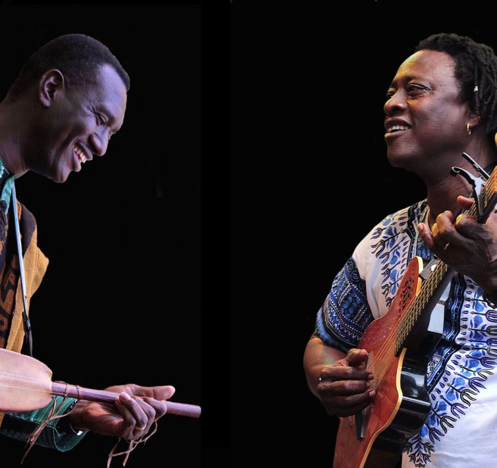 Bassekou Kouyaté und Habib Koité (v.l.) (Foto: Renée Missel)