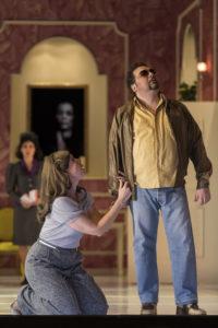 Theater Augsburg/ La Forza des destino/ Sally du Randt, Leonardo Gramegna Foto: Jan-Pieter Fuhr