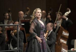 Diana Damrau/ Maria Stuarda, Konzertante Premiere am 28. Mai 2018 in der Deutschen Oper Berlin, copyright: Bettina Stöss