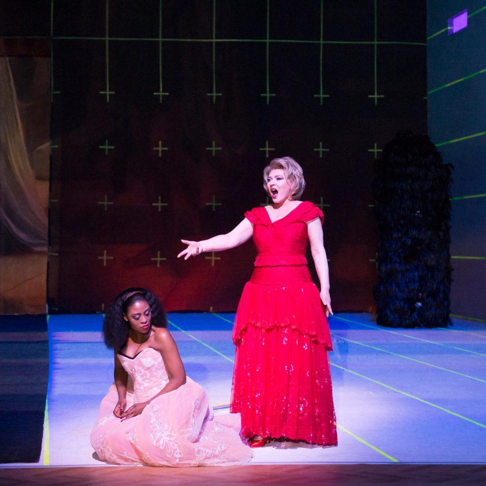 """Aalto-Musiktheater Essen/Szenenfoto """"Aida"""" (Foto: Saad Hamza)"""
