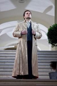 Mirko Roschkowski/ Tito (Mozart) an der Oper Köln, Foto: P. Leclaire