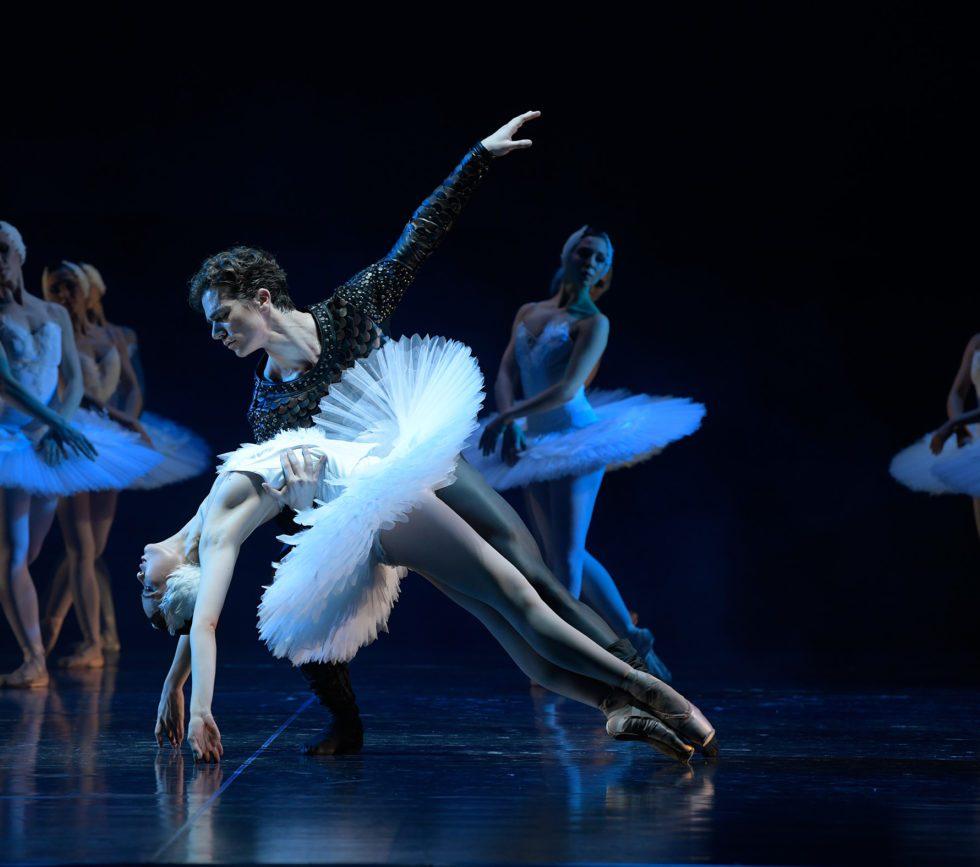 Titelfoto: Aalto Ballett Essen/Schwanensee Foto©Bettina Stöß