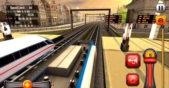 train game android