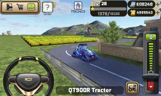 3d tractor game android