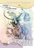 """Couverture de l'anthologie """"Les animaux fabuleux"""""""