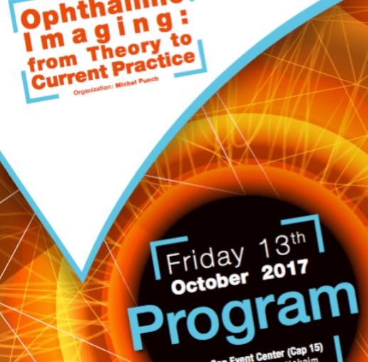 Optalmologic Imaging - Paris 13 octobre 2017