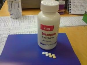 Valium for opiate withdrawal