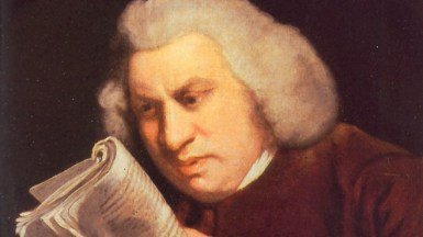 Portrait of Samuel Johnson by Joshua Reynolds, 1775. Source: wikipedia commons.