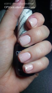 OPI Bubble Bath with Piruoette my Whistle