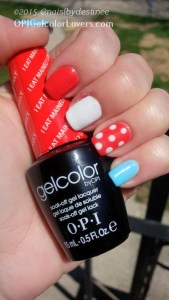 OPI Gelcolo - I Eat Mainely Lobster, Alpine Snow, Pastel - Cant find my czechbook