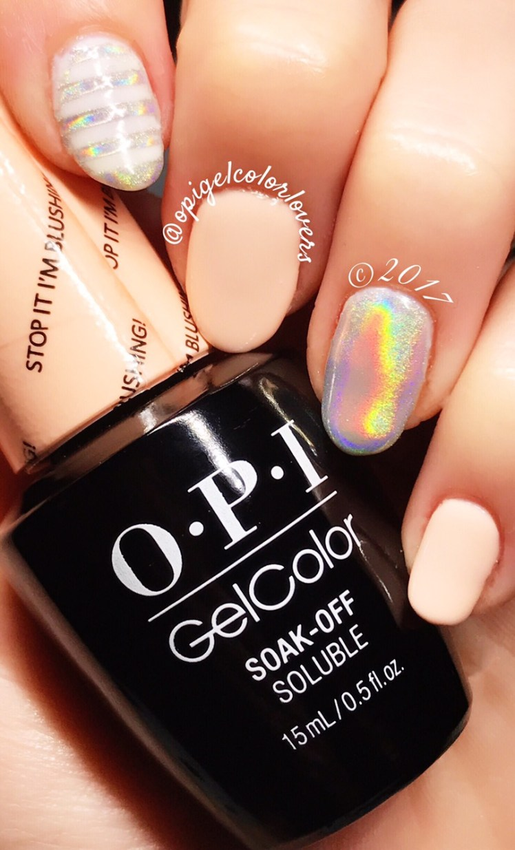 Manicure Monday: Stop It I\'m Blushing! & Funny Bunny – OPI GelColor ...