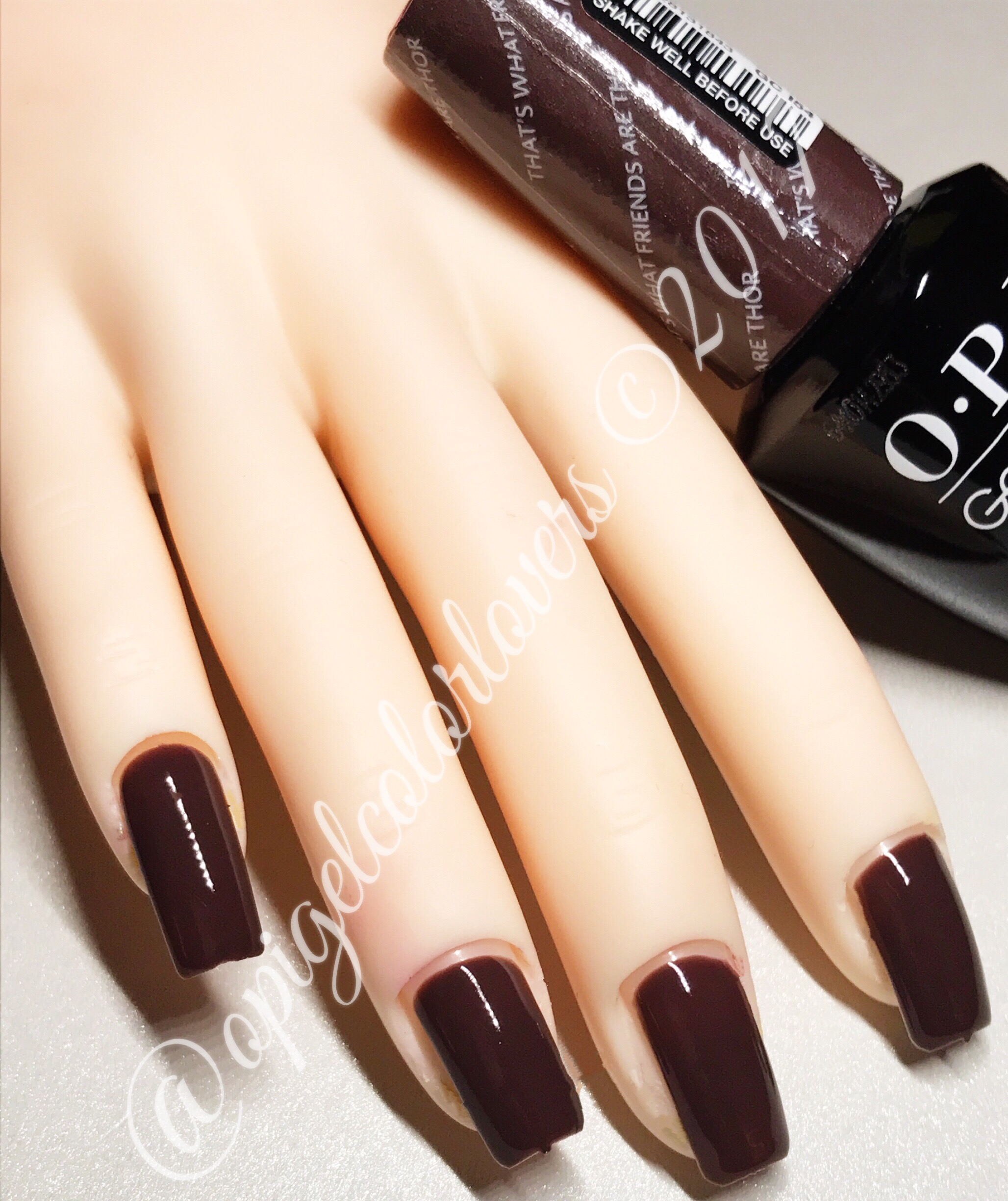 Iceland Fall Winter 2017 Opi Gelcolor Lovers