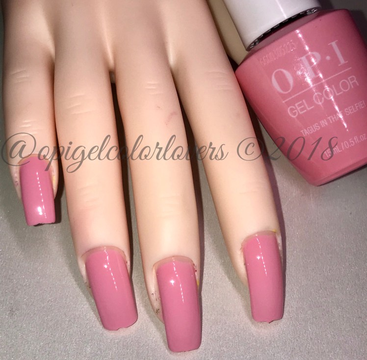 Lisbon Collection Spring 2018 Opi Gelcolor Lovers