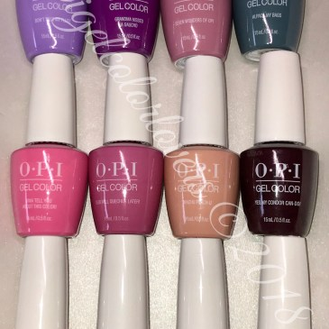 Collection Swatches Archives Opi Gelcolor Lovers