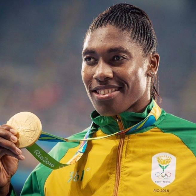 Caster Semnya sacrée championne du monde en 2016