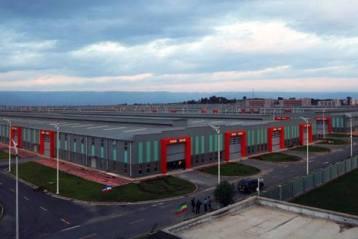Une usine de textile en Ethiopie